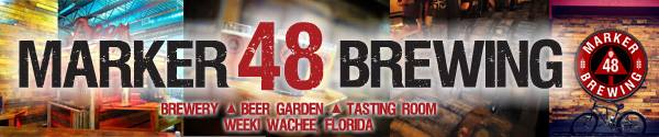 Marker 48 Brewing banner ad