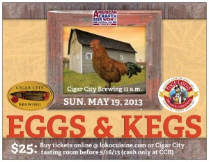 Eggs and kegs 2 300x232 Another Eggs & Kegs brunch set for Cigar City   and there will be more