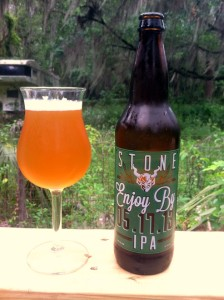 Stone Enjoy By 224x300 Stone Enjoy By IPA hits the Sunshine State