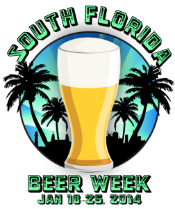 South Florida Beer Week logo 2014 252x300 South Florida Beer Week highlights local craft beer