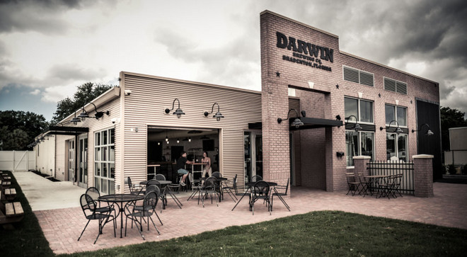 darwin brewing Darwin Brewing Co. tapping its beer in Tampa