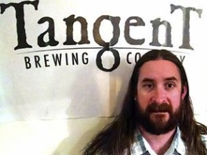 Rodney Sedillo, the hippiest of the Tangent Brewing team.