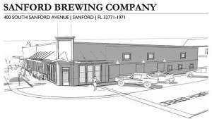 Sanford Brewing elevation
