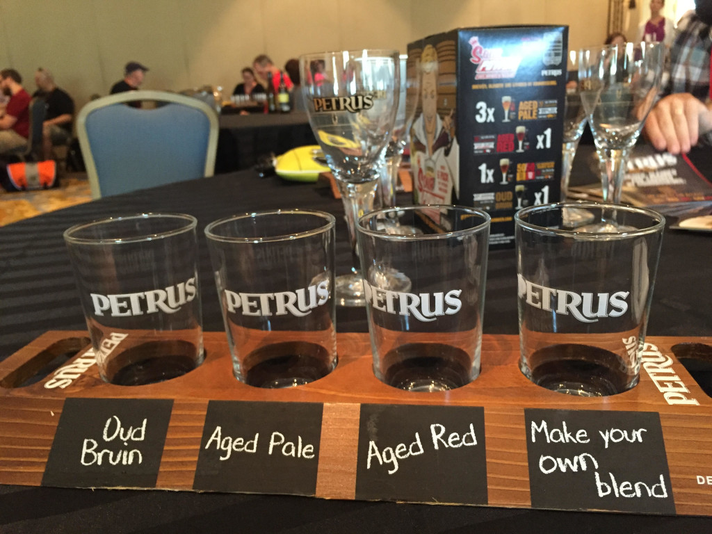 I found this session to be a highlight, even though I'm not much of a sour beer fan. (Photo by Gerard Walen)