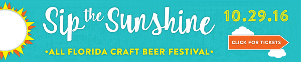 Sip the Sunshine banner ad